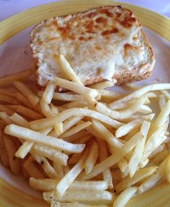 Still Life Café croque monsieur