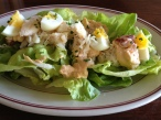 Dungeness crab Louie salad