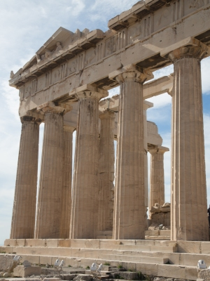 Facade of the Parthenon
