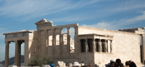 The Erechtheion with the Porch of the Caryatids