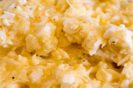 Feta cheese mixture with fresh-cracked pepper