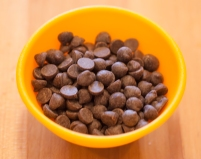 Miniature chocolate chips
