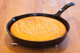 Cornbread right out of the oven