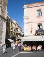Piazza Badia in Taormina