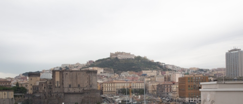 The city of Messina from the harbor