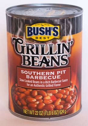 Bush's barbecued beans