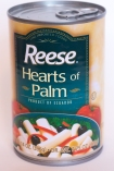 Canned hearts of palm from Ecuador