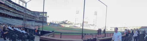 Panorama of AT&T Park