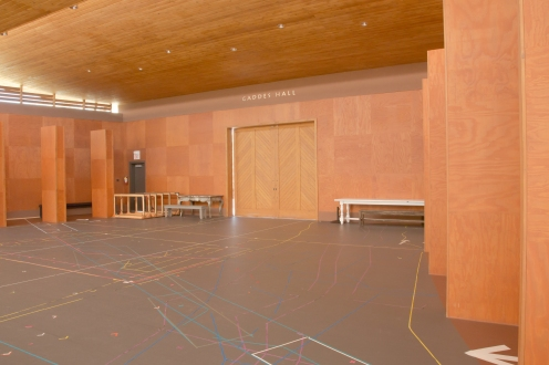 Rehearsal stage at Opera Ranch