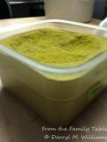 A big supply of fennel pollen