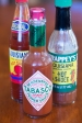 Your choice of Louisiana hot sauces