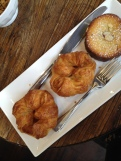 Kouign amanns and bostock