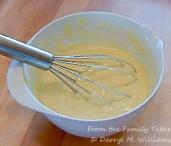 Whisked mayonnaise