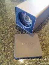 Lens-end of the Lytro camera