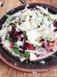 Bar Tartine Beet and blue cheese salad