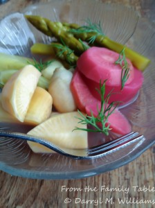 Bar Tartine Brine pickled vegetables