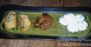 Bar Tartine kugeleh and meringues