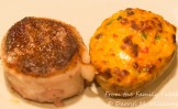 Steak and twice-baked pimento cheese potato