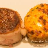 Steak and twice-baked pimento cheese potato