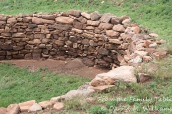 Ruin of a ceremonial kiva