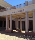 El Garces Hotel - the shell of the Fred Harvey Hotel in Needles, California. From the back it is not nearly as elegant.