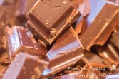 Chop the chocolate coarsely for the ganache step