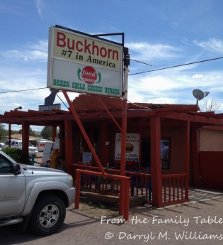 Outside the Buckhorn Tavern