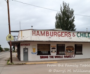 The now-closed Outpost in Carrizozo, New Mexico