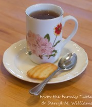 Tea and madeleine a la Proust