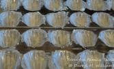 Heavily buttered molds