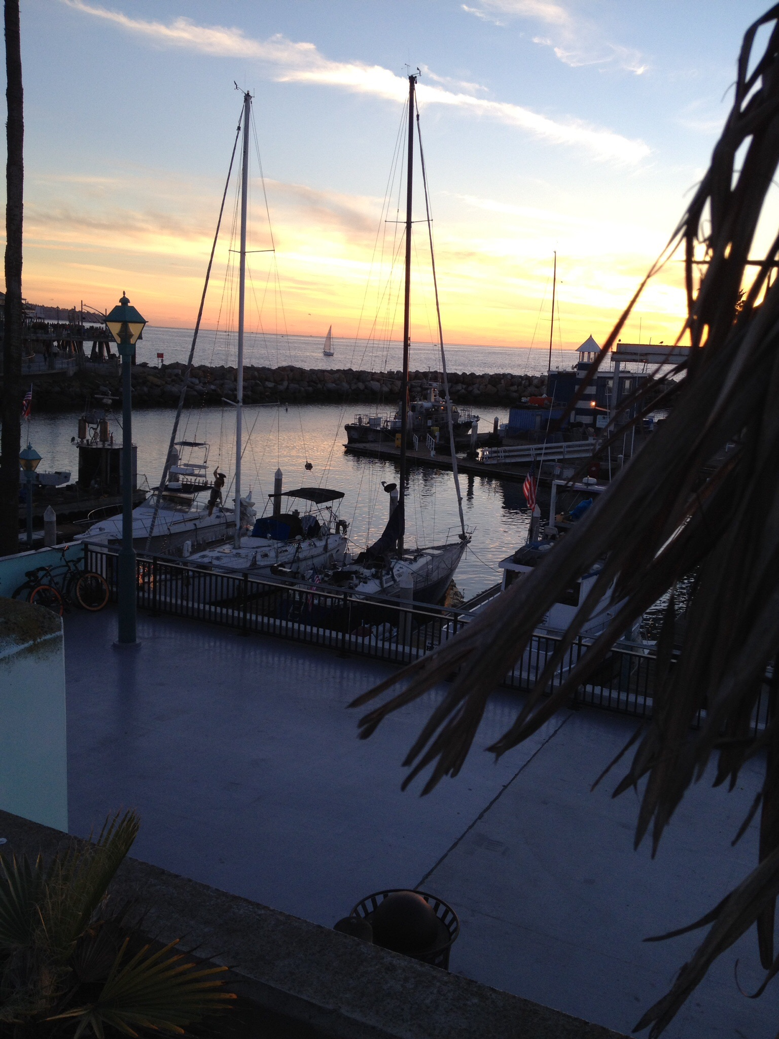 Fish stew and the redondo pier from the family table for Redondo beach fish market