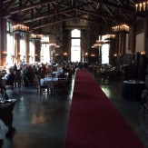 The main diniing room at the Ahwahnee