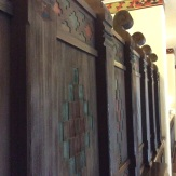 Some of the original woodwork from 1927 in the Ahwahnee lobby
