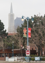 The iconic TransAmerica Tower and the classic Fog City Diner