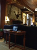 Lobby of Lake Quinault Lodge