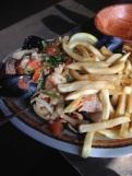 Seafood sauté