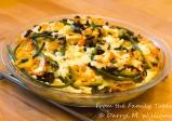 Garlic scape frittata-5