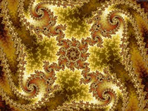 Fractal art (Image from the Internet)