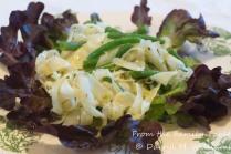 Fennel and haricot vert vinaigrette