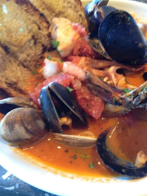 Rustic seafood stew