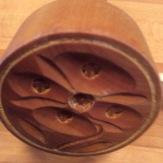 Wooden butter/springerle mold