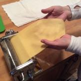 Sheet of pasta