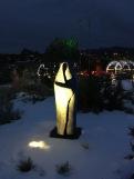 Lights in the Santa Fe Botanic Garden