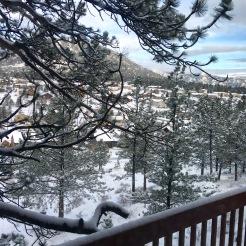 Mountain snow in Colorado