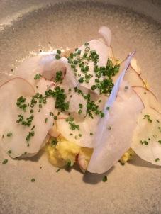 Scrambled egg, porcini