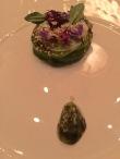 Roasted avocado, sesame
