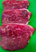 Round steak, thinly sliced