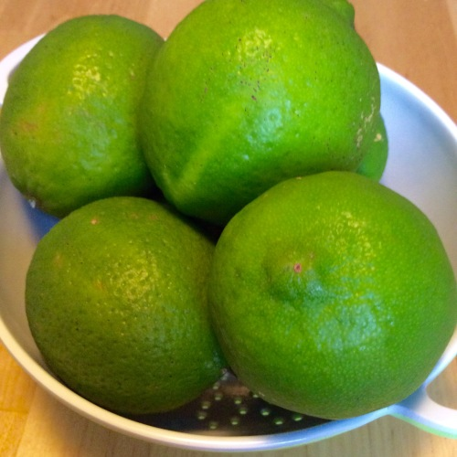 "Persian limes - or just ""limes"""