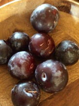 Plums from our friends