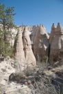 A parade of tent rocks